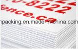 1220mm*2440mm *2mm 3mm 4mm 5mm pp Golf Plastic Blad/Correx/Coroplast/Corflute die direct met de Druk van het Scherm/Digitale Druk afdrukken
