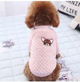 L'adorable chien enduire Vêtements joli petit chien chat Vêtements de loisirs à l'automne hiver chiots Pet Two-Legged chaud Chien Vêtements en laine polaire