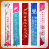 Faixa cerimonial azul para casamento e competição