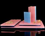 Blocs d'affichage acrylique Perspex solide Diamond Bijoux Présentoir de comptoir poli
