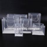Pacote de presente de caixa de plástico transparente de PP claro para promoção