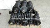 Conjunto de cilindro do ajustador de trilhos Cilindro de tensão da escavadeira (Kobelco SK200)