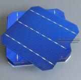 C60 viruta flexible de la batería de la eficacia alta de la eficacia alta 4.3-4.4W 156*156 de la célula solar el 19%