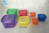 Gesundes Leben BPA geben 7 mehrfarbiges Stück, farbunterlegten Teil-Steuerbehälter-Installationssatz, Leck-Beweis, 21 Tagesplaner frei