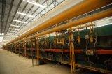 Telha de assoalho cerâmica do olhar de madeira da impressão do rolo dos materiais de construção de China