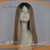 De Braziliaanse Pruik van de Blonde van Ombre van het Haar (pPG-l-0168)