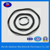 Rondelles à ressort d'onde d'acier inoxydable/acier du carbone DIN137