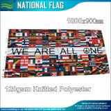 Land 100X200cm van de Wereld van de Polyester van 100% de Nationale Vlag van Koeweit (B-NF05F03006)