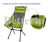アルミニウムキャンプするか、またはハイキングのための椅子を畳みなさい