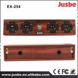 Ex254 Altavoz de la barra de madera profesional multimedia