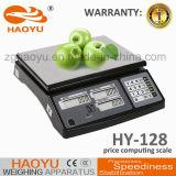 Escala de plataforma calculadora del precio del acero inoxidable de Haoyu Digital