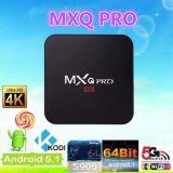 Android Market 5.1 Kodi Mxq Pro 15.2 Amlogic S905 Caixa de TV