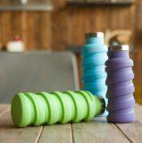BPA approvati liberano la bottiglia di corsa del silicone 500ml per tutto l'alimento liquido degli articoli da toeletta