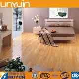 Materiales de construcción de suelo de PVC, vinilo, baldosas, madera grano