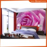 Романтичная розовая картина маслом конструкции 3D Rose мира для спальни