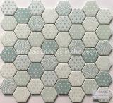 Neueste Technologie-volles Karosserien-Hexagon-Glasmosaik-Fliese