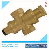 Выкованный латунный клапан уменьшения давления воды/латунный клапан сброса