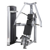 Máquina de pressão torácica sentados Equipamentos de Ginástica Fitness Comercial
