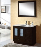 Freier stehender Granitcountertop-hölzerne Badezimmer-Eitelkeit (BL-A027)