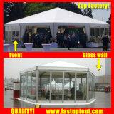 Новый дизайн белого цвета со стороны нескольких палаток для предприятий общественного питания диаметром 8 м 50 человек местный гость