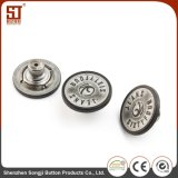 簡単な方法Monocolorの円形の金属のジーンズボタン