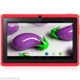 7 '' сердечник 512MB+8GB WiFi Bt квада экрана Android 4.4 WVGA PC таблетки Q88h A33