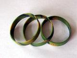 Bande de poignet de silicone - multicolore