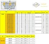 표준 맷돌로 가는 공구 절단기와 일치하는 강철 Hardmetal를 위한 Cutoutil 삽입 Fmp03-125-B40-Ln15-06