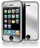 Protecteur d'écran de finition de miroir pour l'iPhone 3G et 3GS
