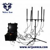De tetra Cellulaire 3G 4G Dds Volledige GPS van walky-Talky WiFi van Banden Stoorzender van het Signaal van de Telefoon van de Bom Mobiele