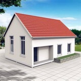 Sandwich Panel Prefabricated / Prefab / Modular Building for Living Homes