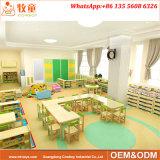 幼稚園のために学校の木製の家具を販売しているよい専門の製造者