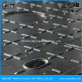 Coperchio di botola quadrato della resina di C250 FRP SMC con la maniglia