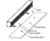 Wasmachine Ce/UL/FCC/RoHS (h-360-s48-w) Iluminacion van de Muur van de LEIDENE Verlichting van de Bol de Openlucht