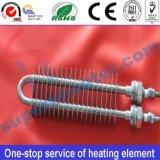 Elemento riscaldante elettrico asciutto alettato dell'acciaio inossidabile