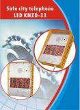 Sicheres Stadt-Telefon-Emergency Hilfen-Telefon-Solaraufruf LED-Bildschirmanzeige