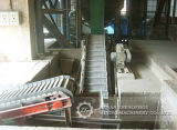 Convoyeur de tablier de chaîne de bonne performance pour le grand matériau en bloc