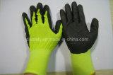 18Индикатор работы из нейлона перчатки нитриловые дышащий материал покрытия (N1606)
