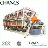 Les quatre côtés compositeur hydraulique rotatif pour panneau en bois massif de plastification