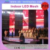 P20 LED Video Wall / flessibile molle del LED Curtain per illuminazione della fase (P12.5, P16. P20 schermo a LED rete)