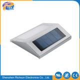 Indicatore luminoso solare esterno di alluminio placcante della parete del banco trafilatore LED