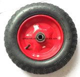 외바퀴 손수레 타이어 3.50-8를 위한 농업 압축 공기를 넣은 고무 바퀴