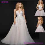 Bling шнурка Applique lhbim Bridal платье 2017 венчания
