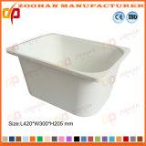 Container van de Opslag van de Doos van de Vertoning van het Voedsel van de opslag de Plastic met Dekking (Zhtb19)