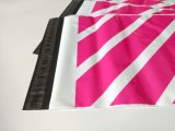 Annonce de logo de LDPE poly d'enveloppe faite sur commande d'empaquetage en plastique
