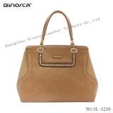 고품질 솜씨를 가진 Handbag Semi Fixed Handbag 유일한 새로운 디자인 PU 숙녀
