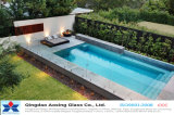 8mm, 10mm, 12mm Clear Toughened Glass for swimming Pool Fence
