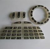 Tasto su ordinazione della gomma di silicone dell'elastomero per il regolatore a distanza