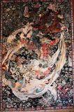 Персидский шелковые гобелены (135-2*3)