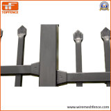 2.1m X 2.4m Poeder Interpon bedekten het Gedrukte Spear Geplooide Spear Tubulaire Schermen van het Garnizoen met een laag
